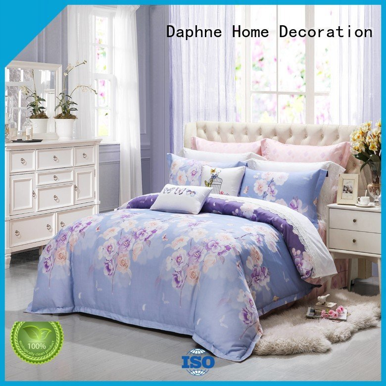 brightly digital vividly floral Daphne 100 cotton bedding sets