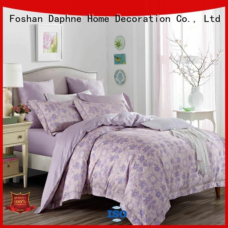 100 cotton bedding sets soft embroidery Cotton Bedding Sets Daphne Brand