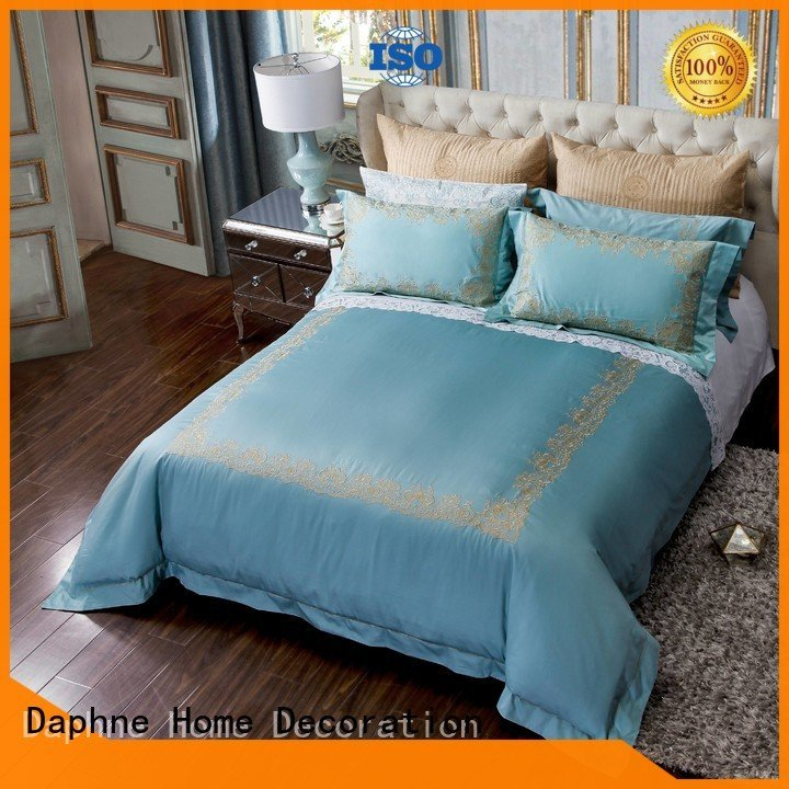 linen bedding sets duvet percale Solid Color Bedding Daphne Brand