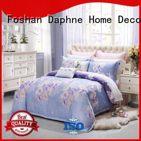 Daphne vividly printed Cotton Bedding Sets colored bedding