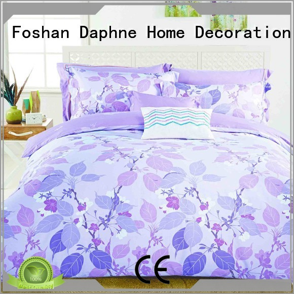 brushed 300tc comfortable 100 cotton bedding sets Daphne