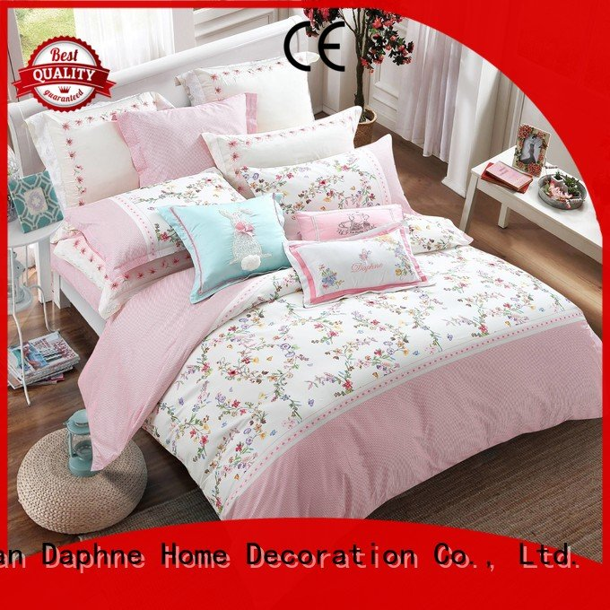 Daphne Cotton Bedding Sets brushed cotton bed peony