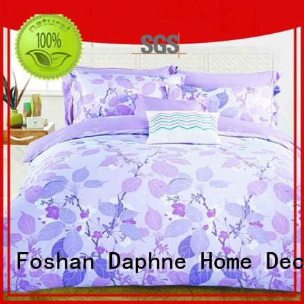 Daphne linen peony Cotton Bedding Sets floral fashionable