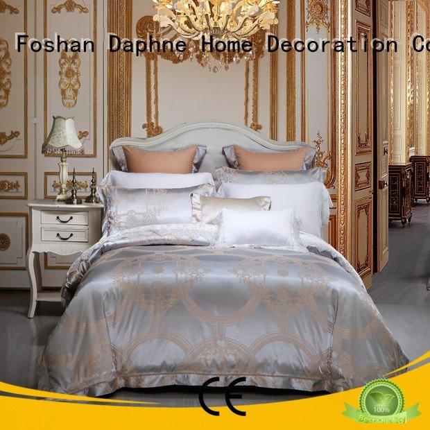 Hot jacquard duvet cover king bedroom vividly beautiful Daphne Brand