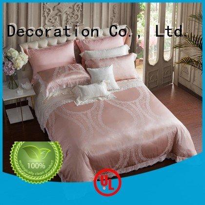 Daphne cover vividly Jacquard Bedding Set luxury linen