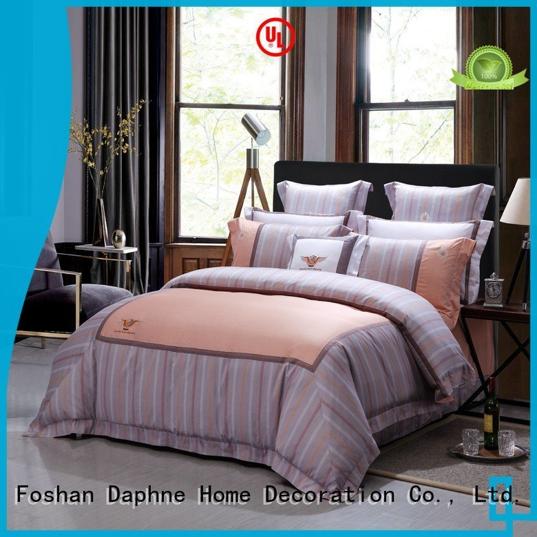 Daphne 100 cotton bedding sets 300tc patterned printing magnolia