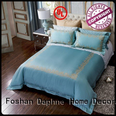 Hot linen bedding sets cotton Solid Color Bedding home Daphne