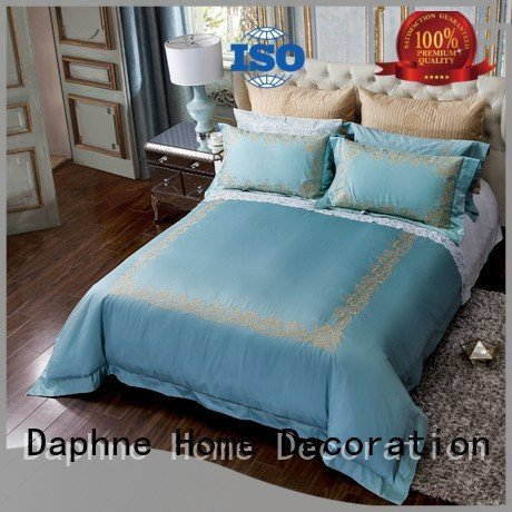 cotton thread linen bedding sets Daphne
