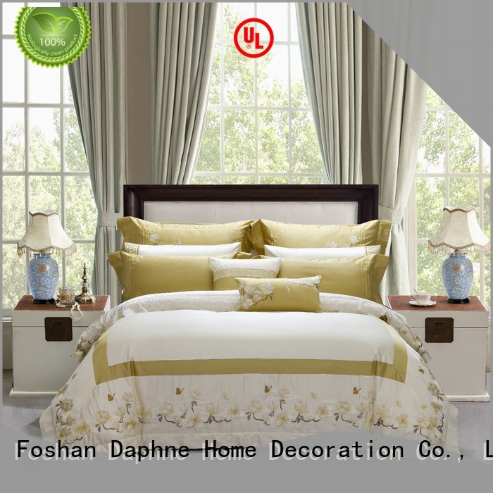 Daphne 100 cotton bedding sets brushed longstaple magnolia high