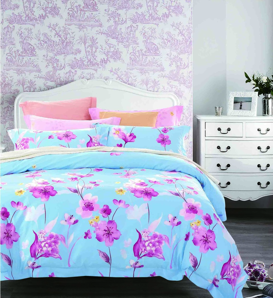 Cotton printed bedding set  #161435