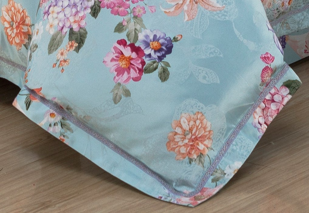 Daphne Brand beautiful cover jacquard duvet cover king desings bed
