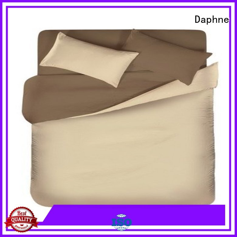 linen bedding sets simple colorful Solid Color Bedding pure Daphne Brand