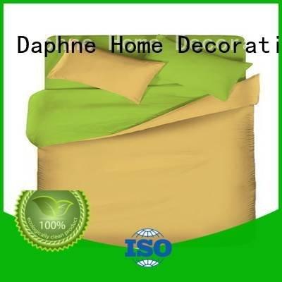 linen bedding sets modern colorful OEM Solid Color Bedding Daphne