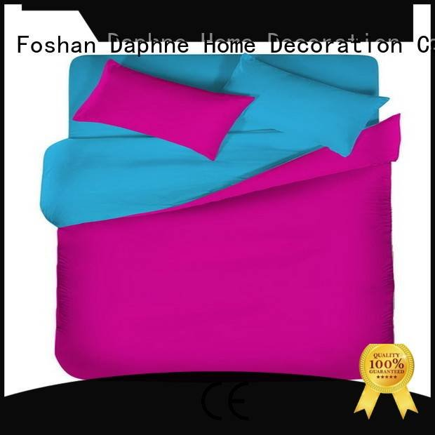Custom Solid Color Bedding style cotton modern Daphne