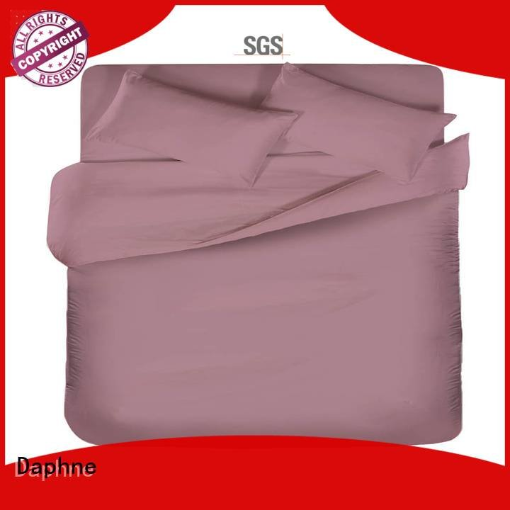 Daphne Brand turquoise colorful color linen bedding sets