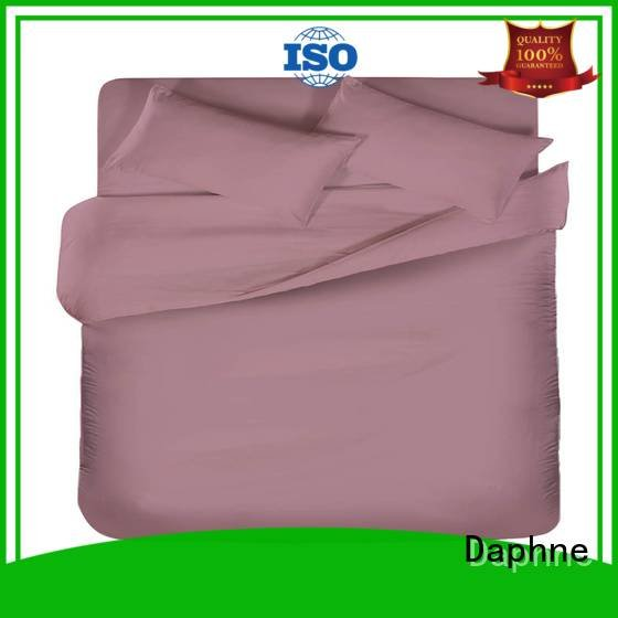 colorful style modern bed Daphne Solid Color Bedding