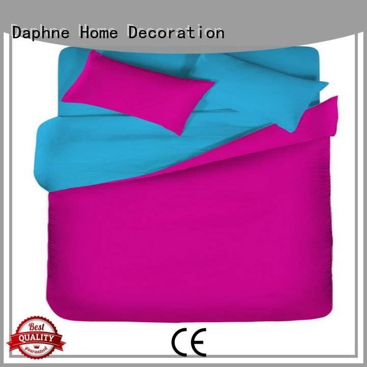 solid color cover thread Daphne Solid Color Bedding