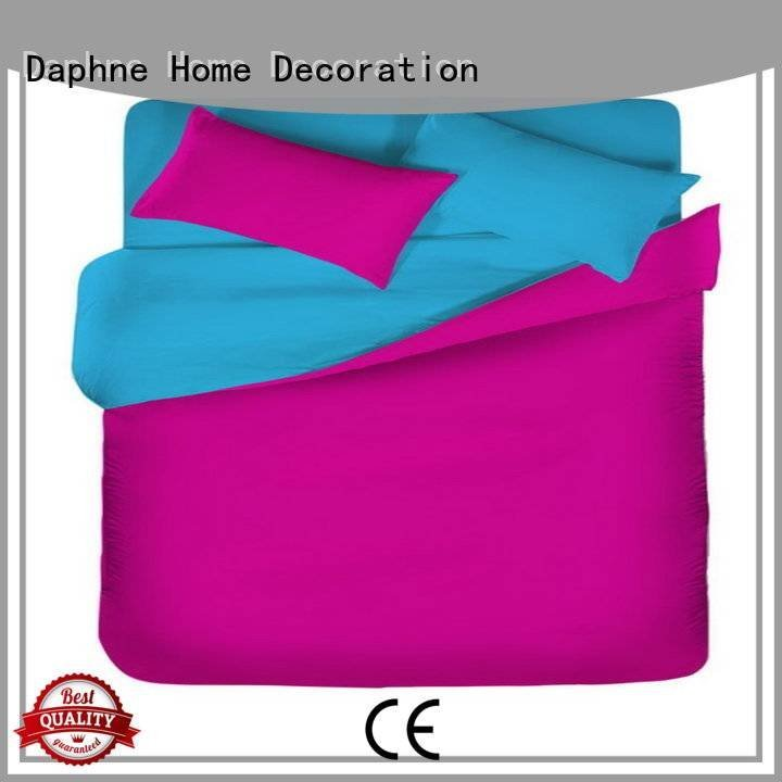 solid color cover thread Daphne Solid Color Bedding