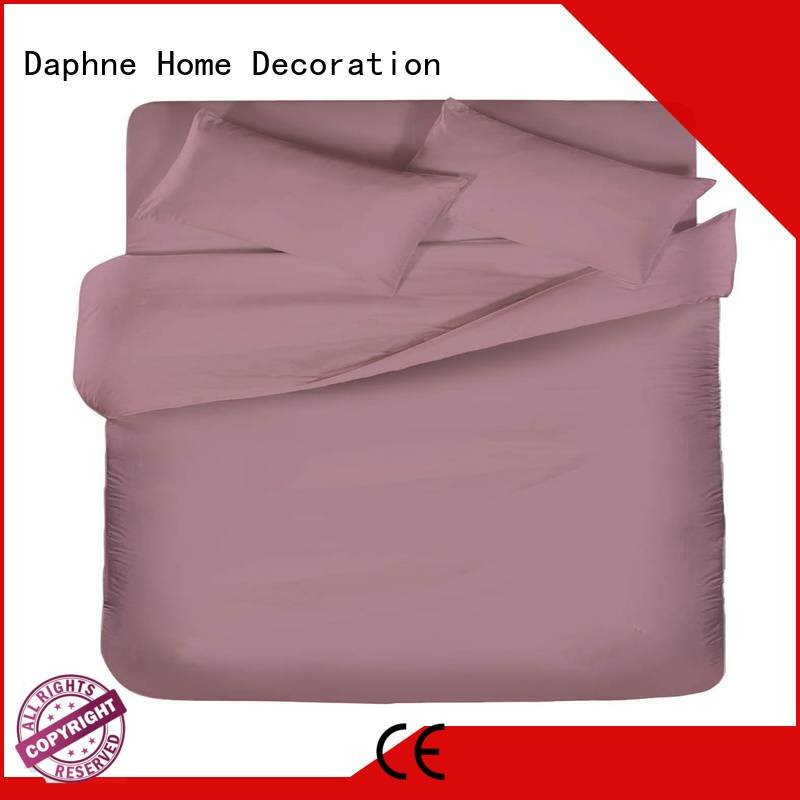 Daphne Brand percale modern color Solid Color Bedding