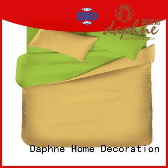 Custom bed Solid Color Bedding thread linen bedding sets