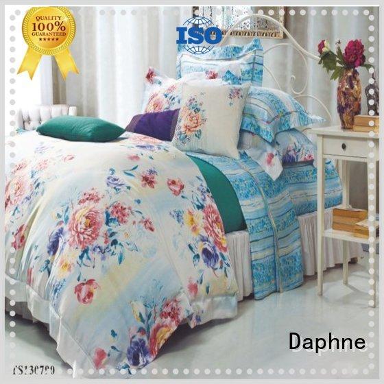 tencel printed organic comforter modal Daphne Brand company