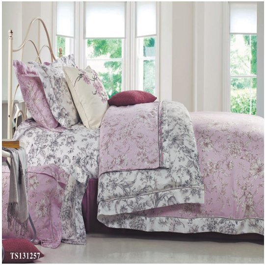 Peach Blossom Lycoell sheet set #131257