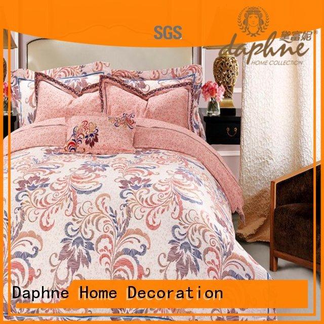 luxury Custom cup ferns organic comforter Daphne blossom