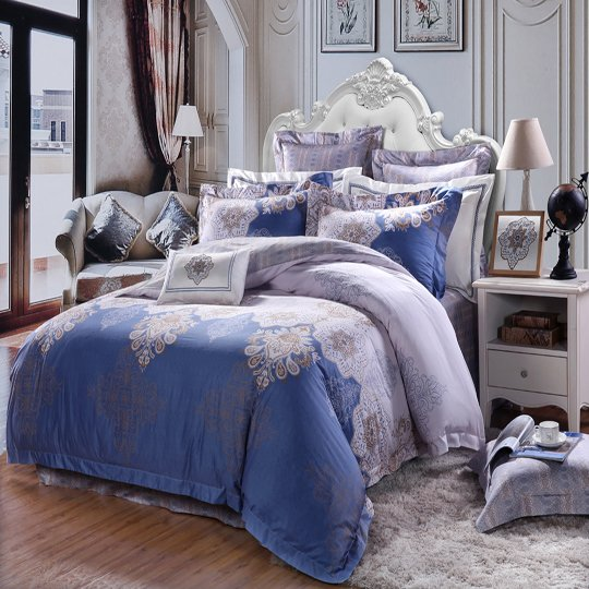 Daphne St.Andrew Baroque Style Duvet Cover Set#DD6562 100% Cotton Printed image57