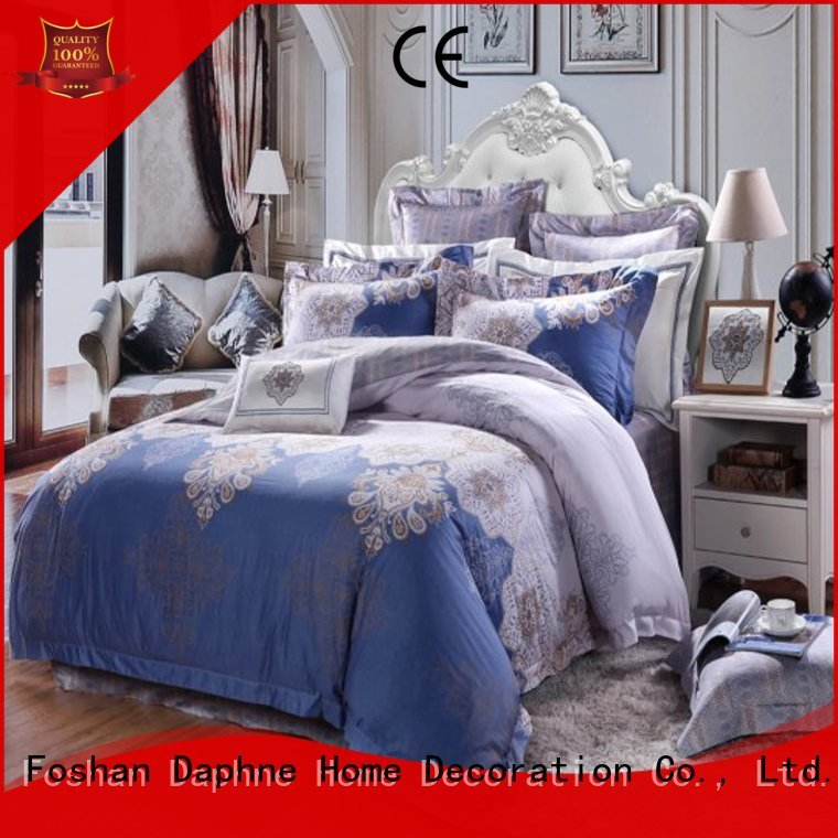 pure brushed Cotton Bedding Sets patterned Daphne