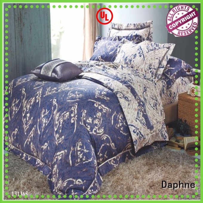 peony Custom design patterns Cotton Bedding Sets Daphne embroidery