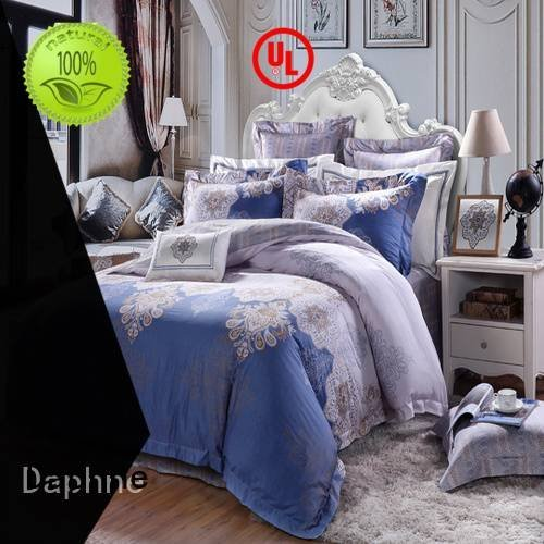 bed colored Daphne Cotton Bedding Sets