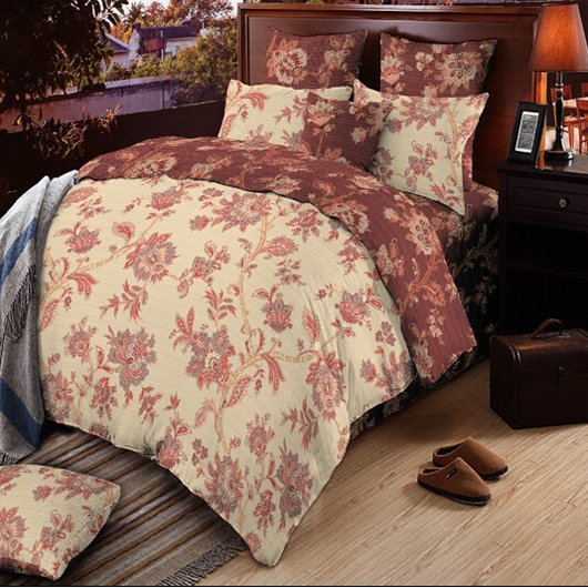 Reversible Pima Cotton bed linen #131511