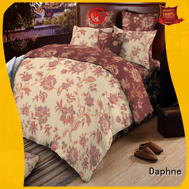 Wholesale attractive 100 cotton bedding sets bed Daphne Brand