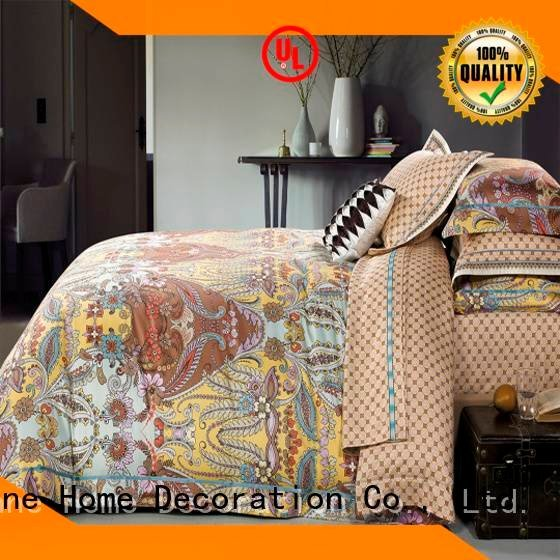 Daphne Brand elegant blossom comfortable Cotton Bedding Sets