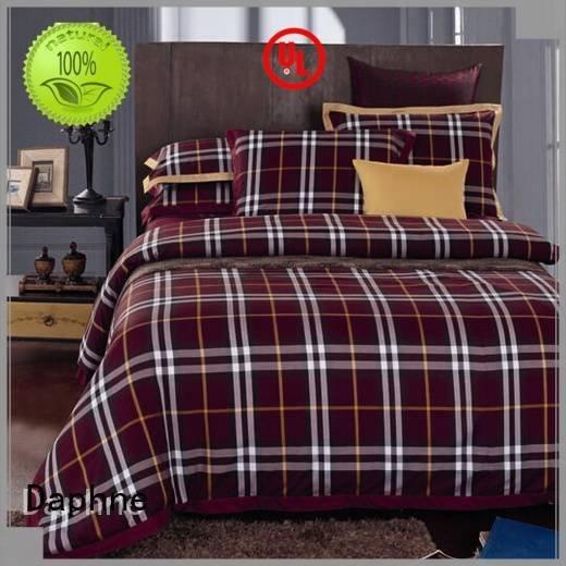 Daphne Brand bedding plaid 300tc 100 cotton bedding sets