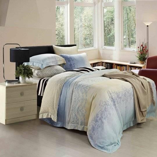 Polar Light Rayon Bed Sheet Set