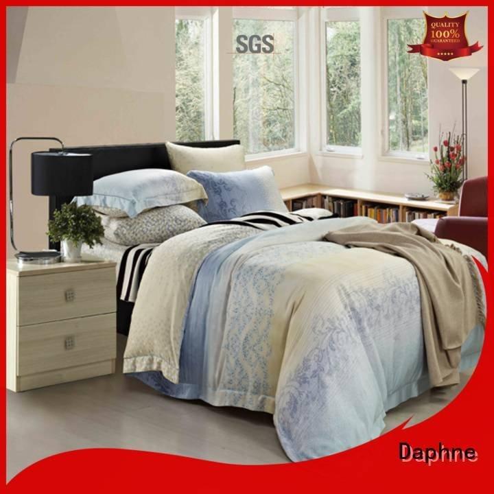 Custom cover organic comforter printed modal sheets