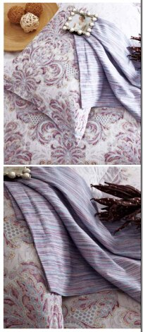 Daphne High Quality Lyocell Green Leaves Bedding Set Lyocell/Rayon/Polyester Blend Print image1
