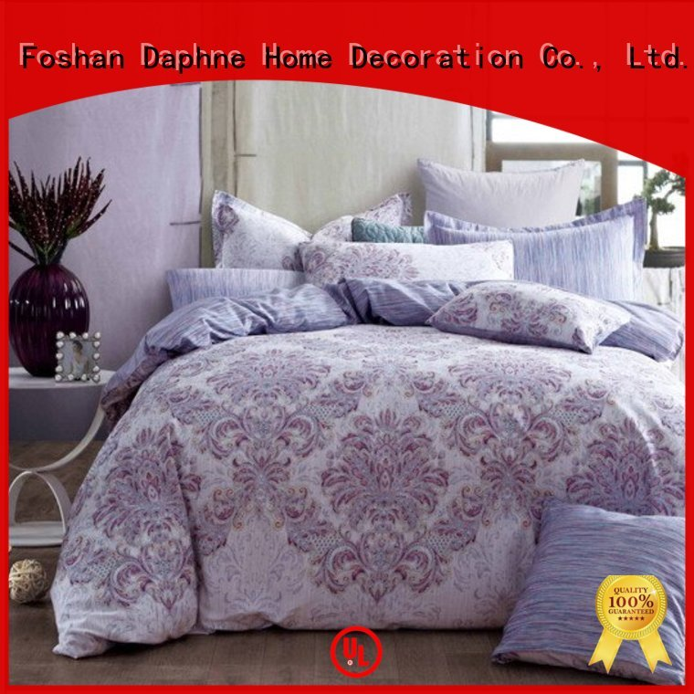 Daphne Brand blossom 100 cotton bedding sets print supplier