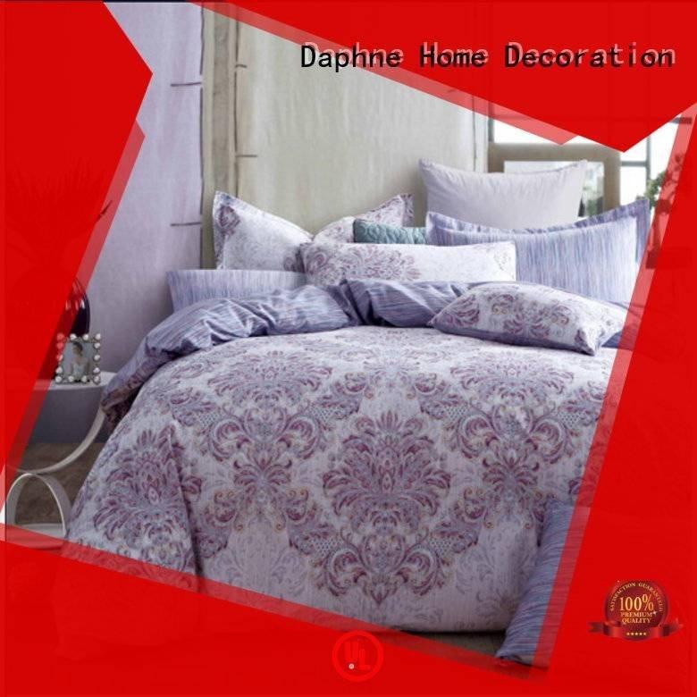 cotton patterned brushed prints Daphne 100 cotton bedding sets