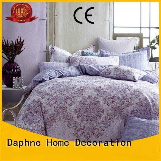 300tc cotton Cotton Bedding Sets patterned Daphne