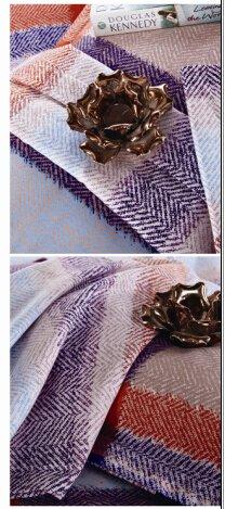 Daphne Herringbone Plaid Brushed Cotton Bed Sheet Set#M988 100% Cotton Printed image50