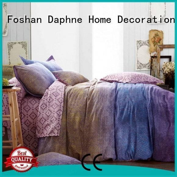 digital patterned Daphne Cotton Bedding Sets