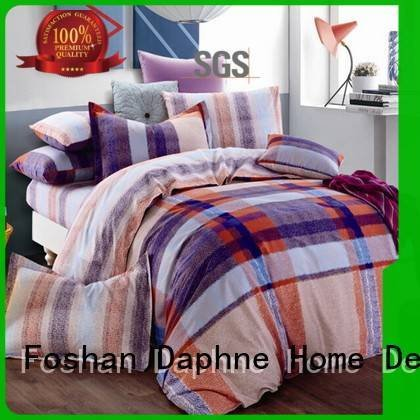 bed brightly longstaple Daphne 100 cotton bedding sets
