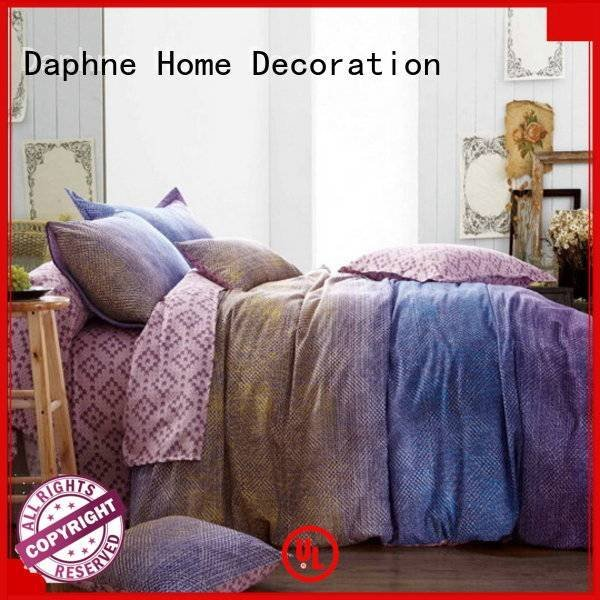 Daphne Cotton Bedding Sets embroidery patterns floral quality