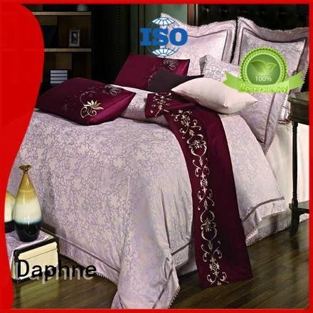 Daphne mixed sets Jacquard Bedding Set designed comforter