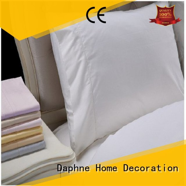 colorful hemstitch damask Solid Color Bedding Daphne
