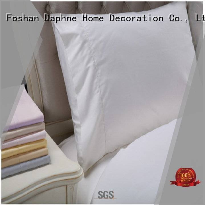 OEM linen bedding sets color home pure Solid Color Bedding