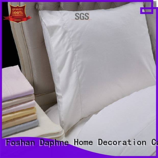 OEM Solid Color Bedding egyptian cover linen bedding sets