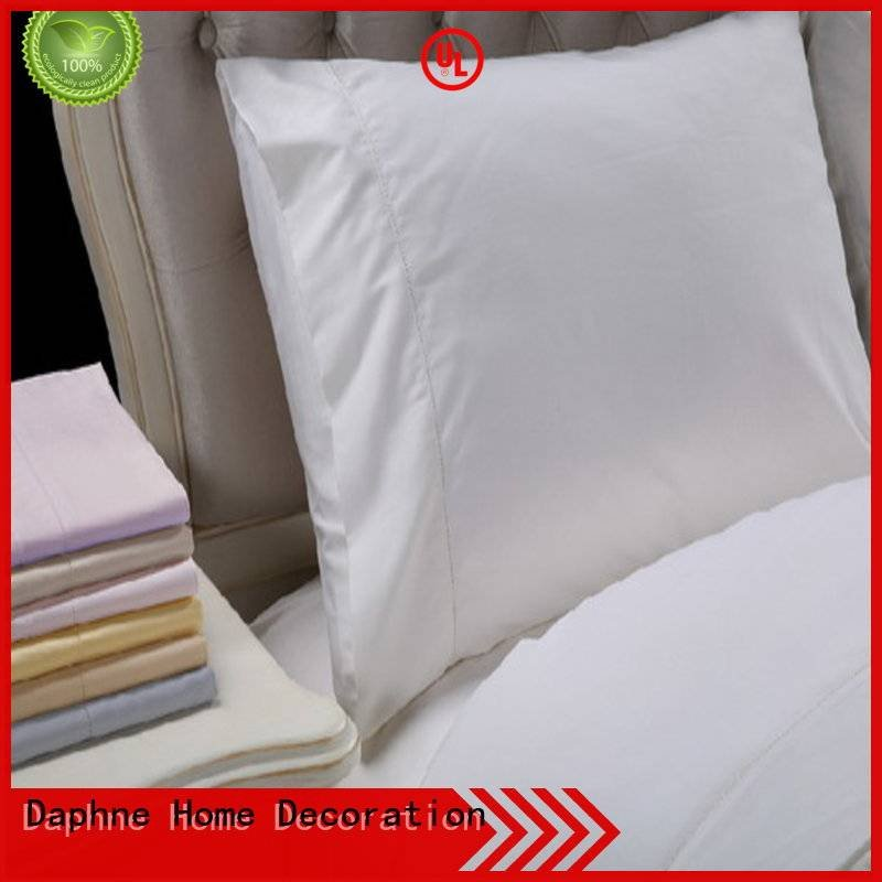 Daphne Solid Color Bedding count percale egyptian thread